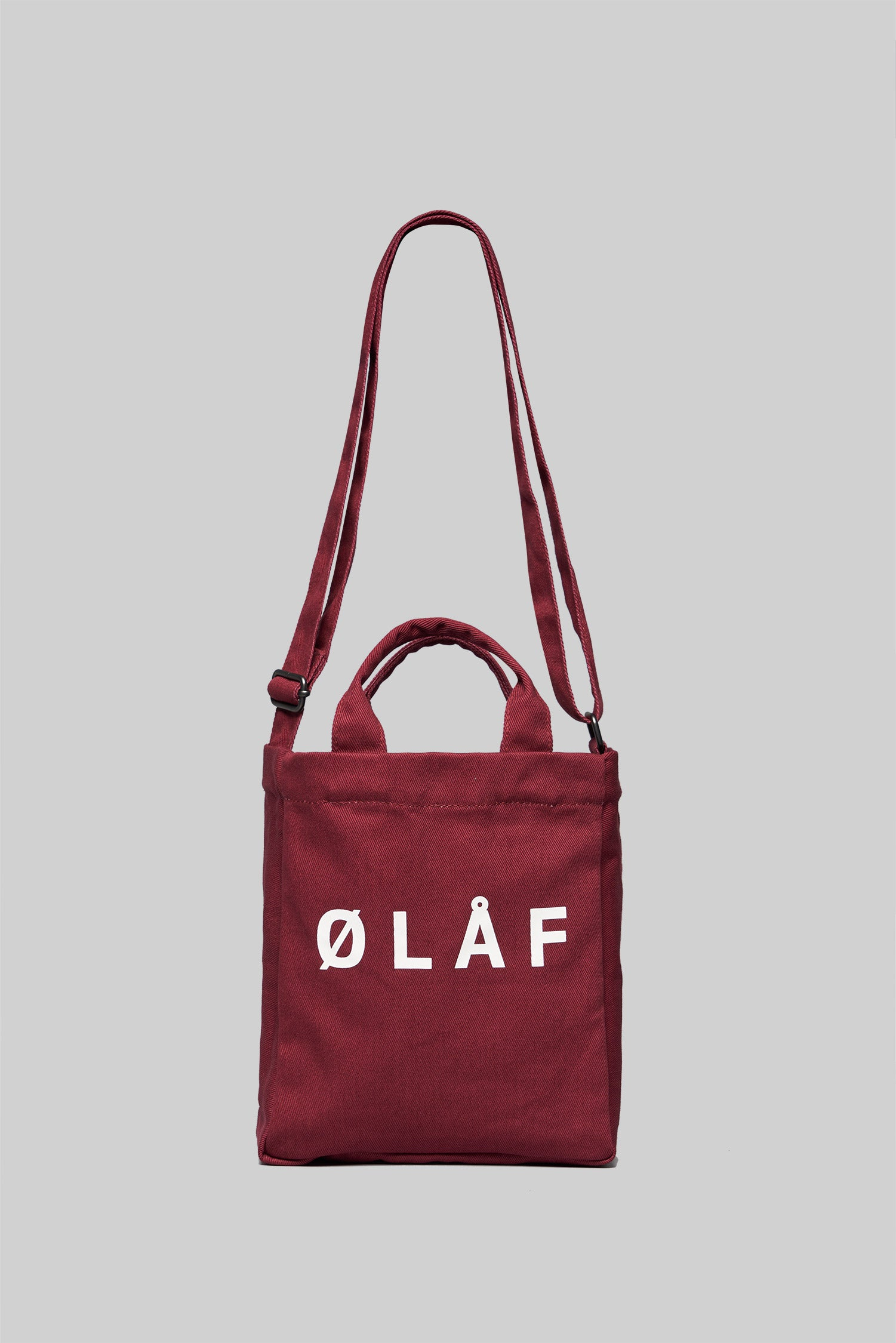 ØLÅF Mini Tote Bag <br>Brick Red
