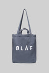 ØLÅF Tote Bag <br>Steel Blue