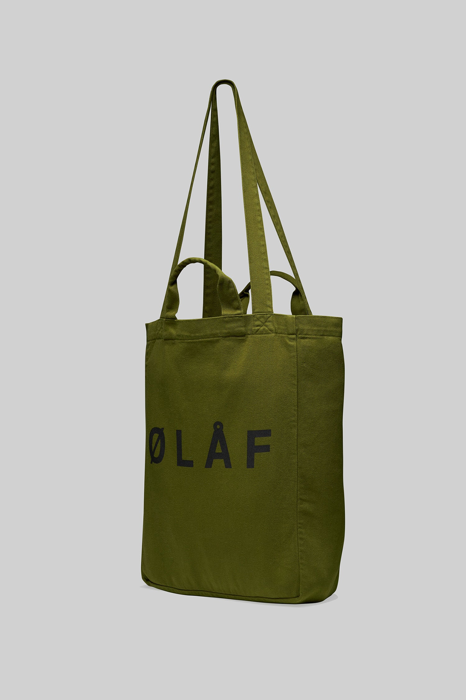 ØLÅF Tote Bag <br>Olive Green