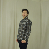 Svend shirt brown check