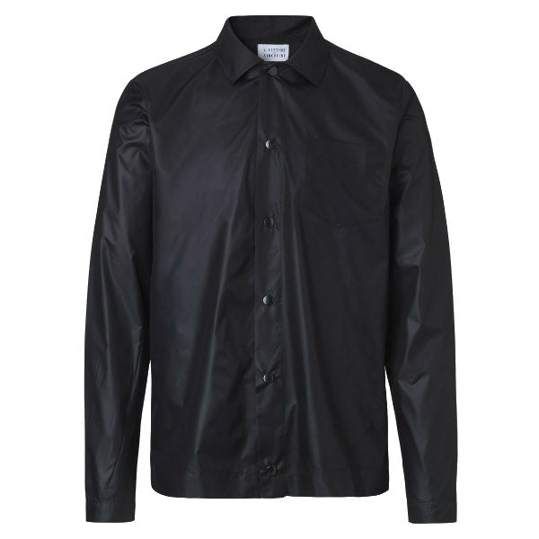 Chet Overshirt dark navy - Townsfolk