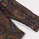 Cypress Paisley shirt olive - Townsfolk