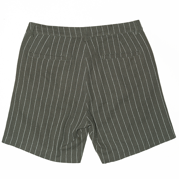 Sigward cotton linen shorts green - Townsfolk
