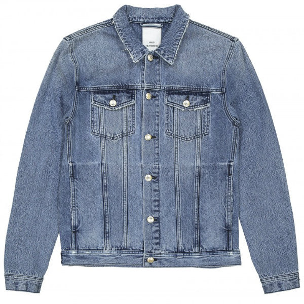 Won Hundred Fourteen Denim Jacket Dodge Blue