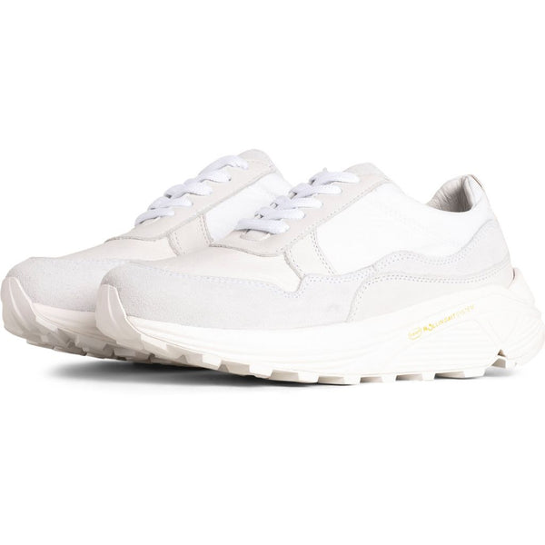 Bailey Runner White Suede - Townsfolk