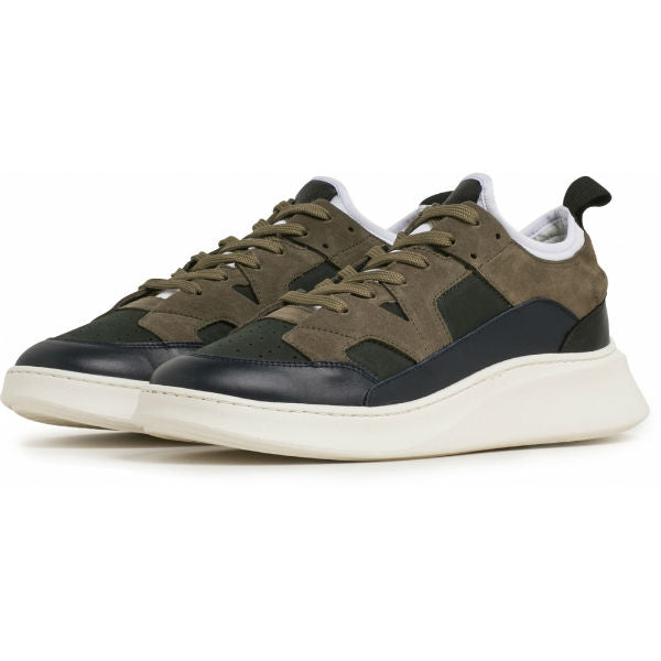 New York sneaker Navy Army Neoprene - Townsfolk