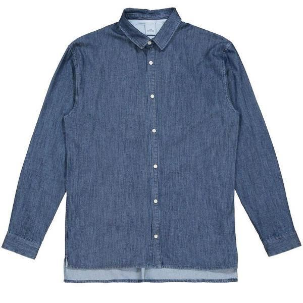 Heino Denim Shirt Medium Blue - Townsfolk