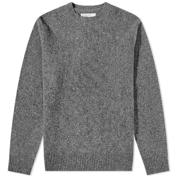 Loose Crew Lambswool Grey - Townsfolk