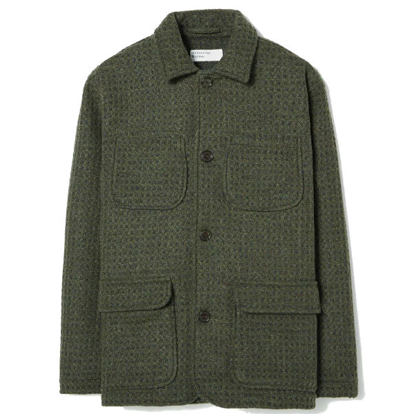 Labour Jacket In Olive - Townsfolk