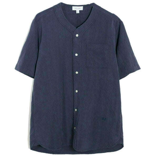 Pumkin ss Baseball Shirt Navy - Townsfolk