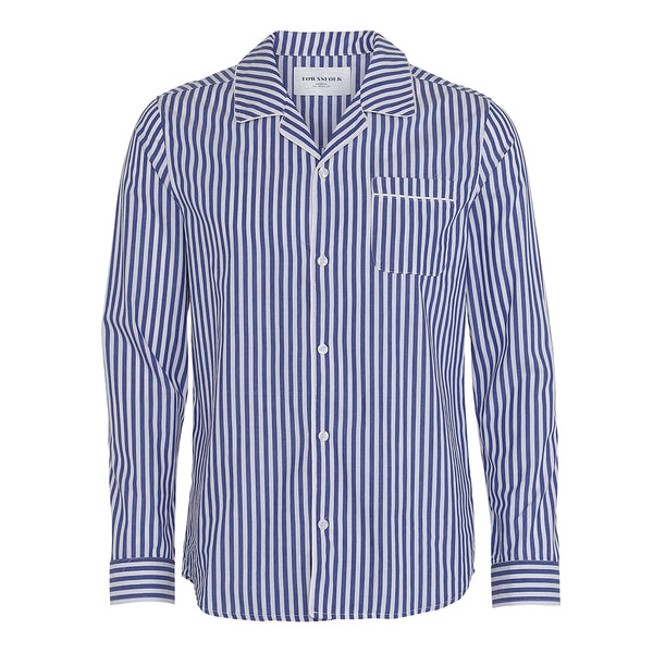 Don Shirt Stripe Navy - Townsfolk