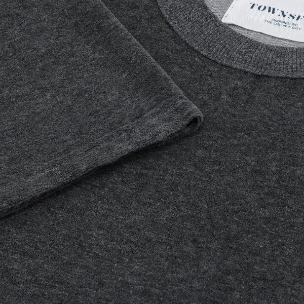 Henry T-shirt Terry Grey - Townsfolk