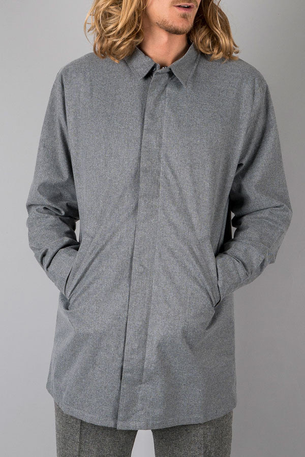 Tech trench coat grey - Townsfolk