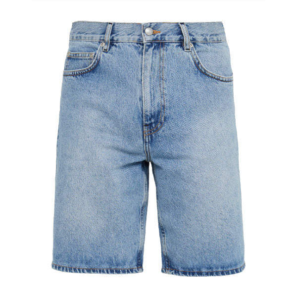 Timothy Shorts Distressed Blue - Townsfolk