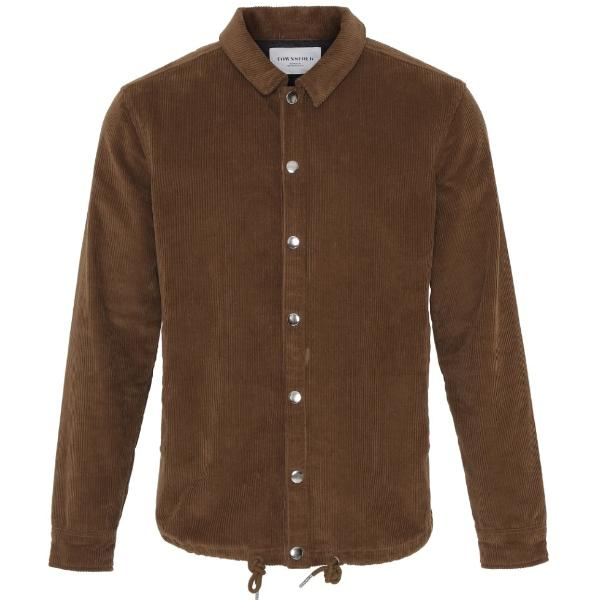 Coach Jacket Corduroy Brown