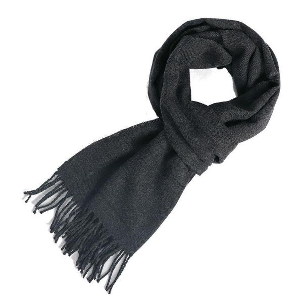 Pure new wool scarf grey - Townsfolk