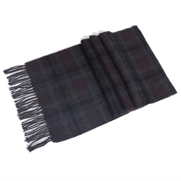 Pure new wool scarf burgundy - Townsfolk