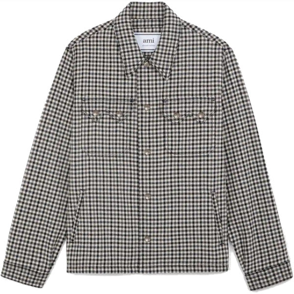 AMI Paris Checked Jacket - Townsfolk