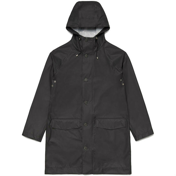 Stutterheim Raincoat Ekeby Black - Townsfolk