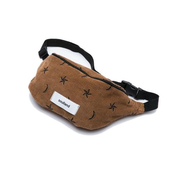 Soulland Hogan Belt Bag Brown - Townsfolk