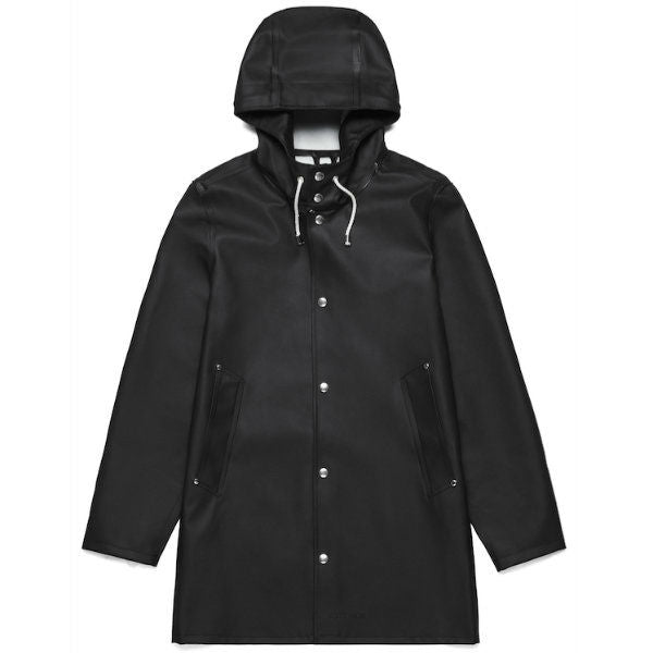 Stockholm Raincoat Black - Townsfolk