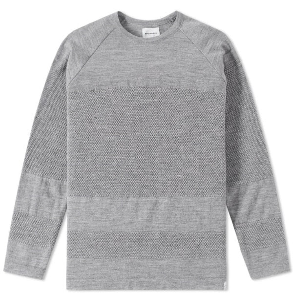 Ville bubble light grey melange - Townsfolk