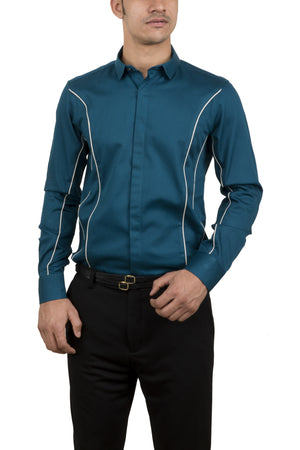 Order Online Men's Blue Shirt from Alchemy.