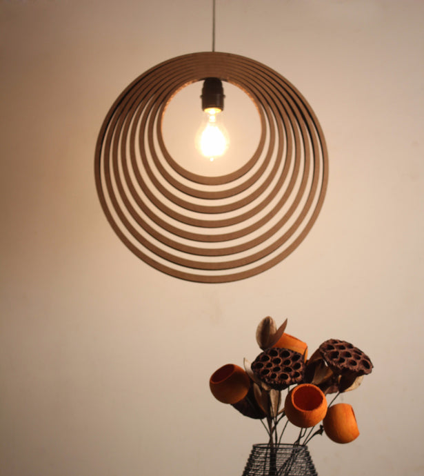 Concentric Pendent Lamp - Hanging Lamp - Sylvn Studio