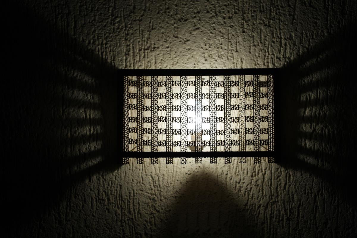 Lattice Wall Mounted Lamp - Wall Lamp - Sylvn Studio