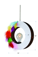 Feather O Pendent Lamp - Hanging Lamp - Sylvn Studio