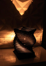 Helix Black Table lamp - Table Lamp - Sylvn Studio