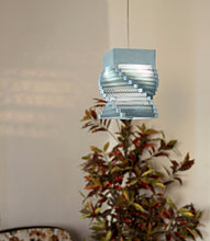 Helix White Ceiling Light - Hanging Lamp - Sylvn Studio