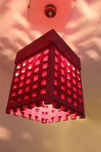 Lattice Pink Hanging Lamp - Hanging Lamp - Sylvn Studio