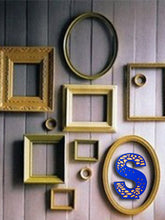 Sunny S Wall Accent - Letter Block - Sylvn Studio