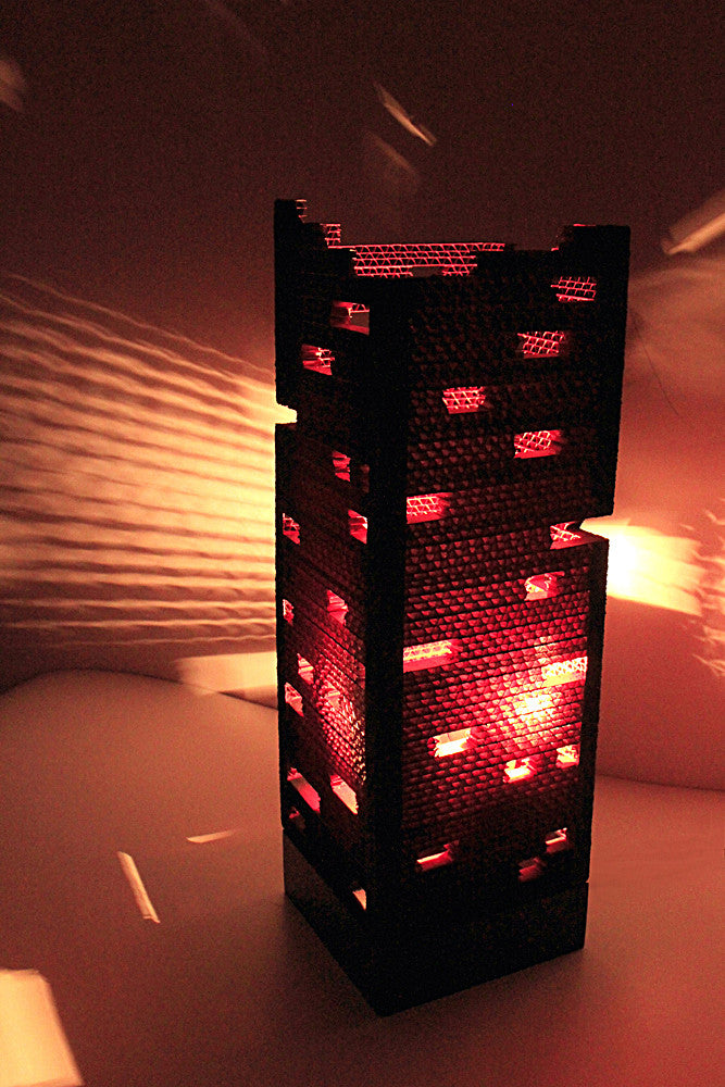 Colosseum Multi-Red Table Lamp - Table Lamp - Sylvn Studio