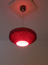 Flying Saucer Pink Ceiling Lamp - Hanging Lamp - Sylvn Studio