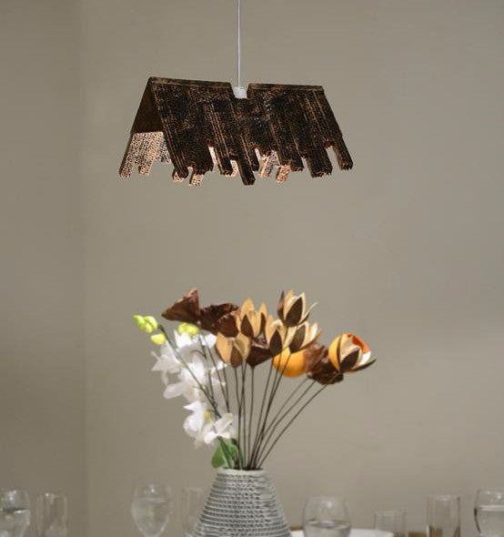 Hanging Hut Lamp - Hanging Lamp - Sylvn Studio