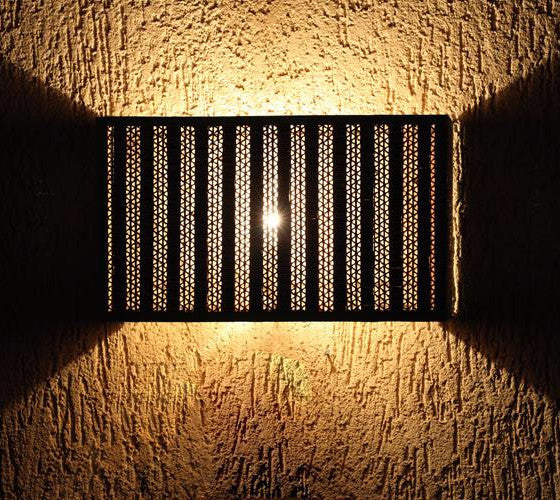 Textured Quad Wall Sconce - Wall Lamp - Sylvn Studio