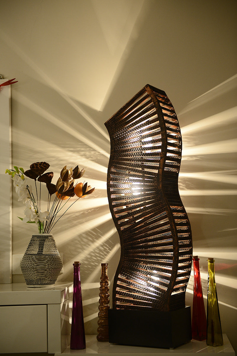 Sonsie Copper Floor Lamp - Floor Lamp - Sylvn Studio