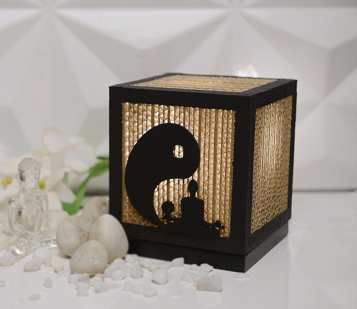 Yin Yang Yoga Table Lamp - Table Lamp - Sylvn Studio