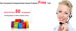 Free Trail---All cell phones transparent tempered glass screen protector