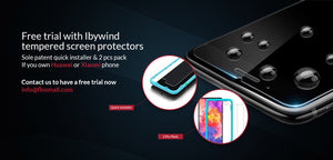 Free Trial For Huawei&Xiaomi&Oneplus Glass Screen Protectors On Amazon and Lazada