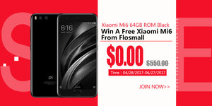 Win A Free Xiaomi Mi6 (6GB-64GB) Black From Flosmall