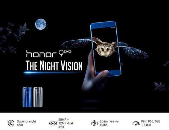 buy Huawei Honor 9 4GB RAM 64GB ROM
