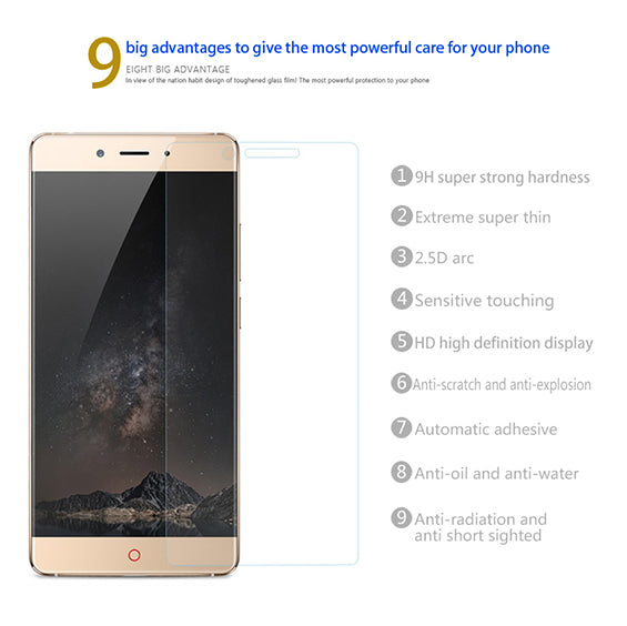 Nubia Z11 Flos Tempered Glass Screen Protector