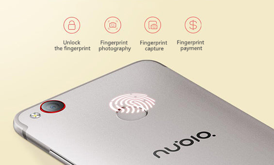 Nubia Z11 Mini S fingerprint recognition