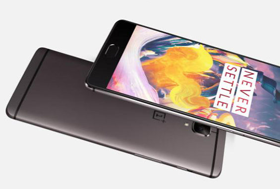 OnePlus 3T all-metal body