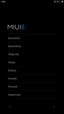 Xiaomi Note 2 multi-language