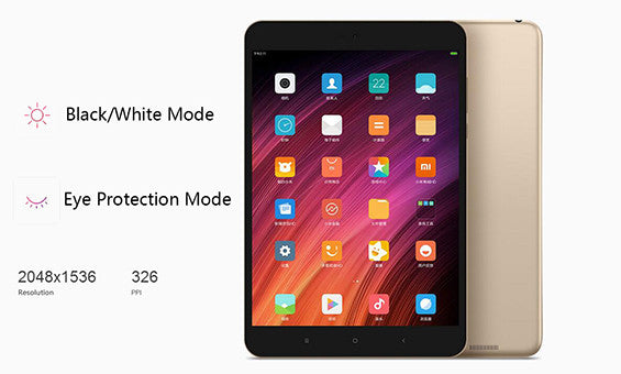 Xiaomi Mi Pad 3 screen