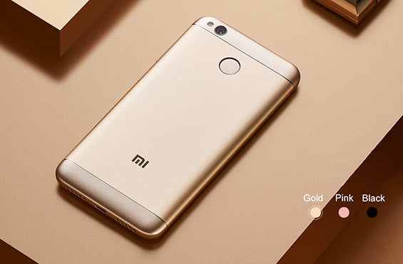 Xiaomi Redmi 4X Metal body